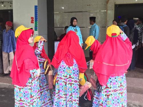 testimoni Konveksi  dan Produksi Topi Bandung Pak Lisam Palembang
